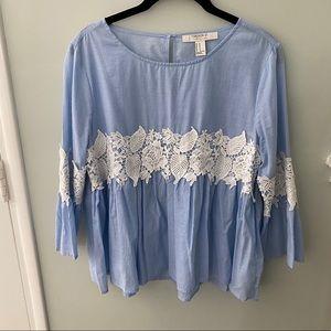 Boho Crochet Lace top